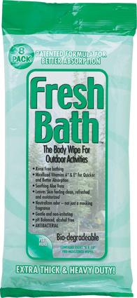 Fresh Bath Outdoor Wipes