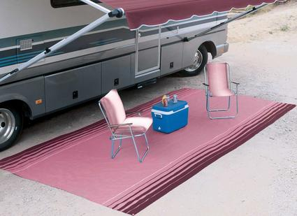 Designer Awning Mats by Carefree, 8' x 8' - Bordeaux