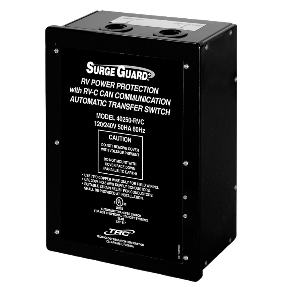 Surge Guard Automatic Transfer Switch With Rv Power Protection Trc How To Wire An 40350rvc1 Protectors Camping World