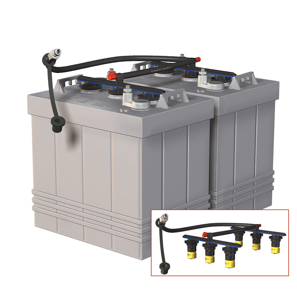 Pro Fill Rv Edition Dual 6 Volt Battery Watering System