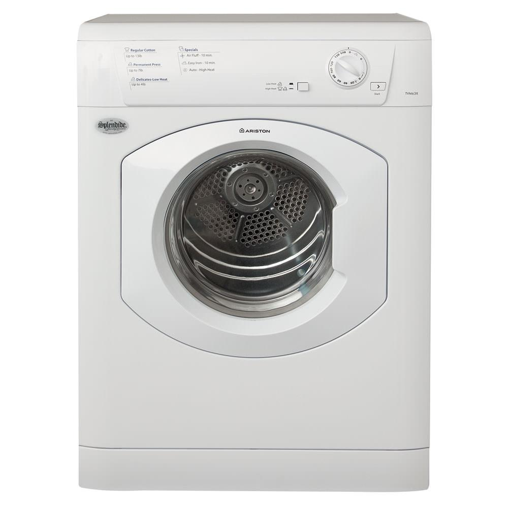 Ariston Vented Dryer - Westland TVM63XNA/AS66VXNA - Dryers - Camping ...