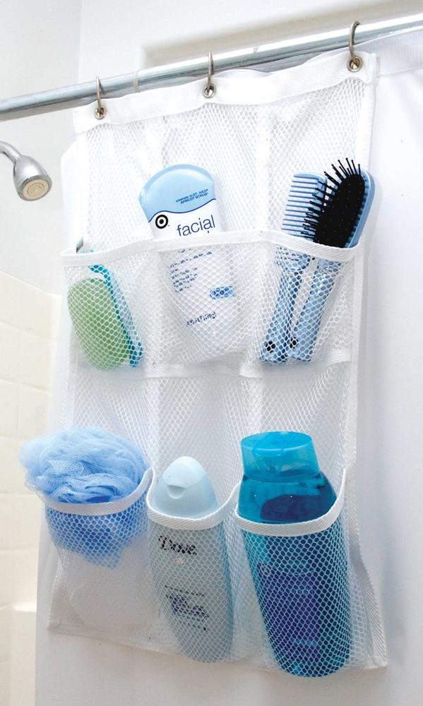 shower pocket organizer direcsource ltd yf bathroom