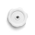 White Window Knob - 1/2