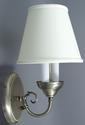 Antique Brass Wall Sconce with Lamp Shade