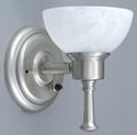 Satin Nickel Wall Sconce
