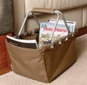 Folding Brown Basket