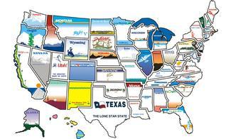 State Sticker Map