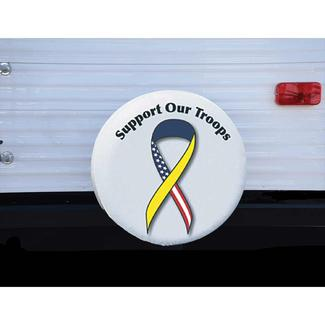 "ADCO Support Our Troops Spare Tire Cover, Size I 28"" dia."