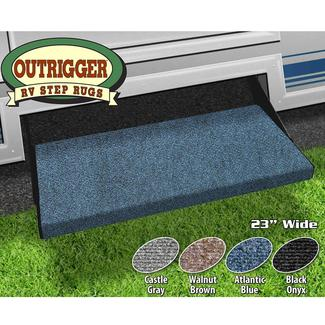 Outrigger RV Step Rug, 23&quot&#x3b;, Atlantic Blue
