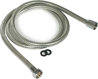 RV/Marine Shower Flex Hose - Chrome