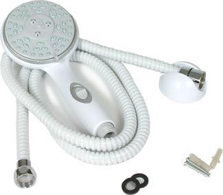 RV/Marine Showerhead Kit, White