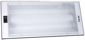 Thin Lite Recessed Fluorescent Light Fixture #712XL