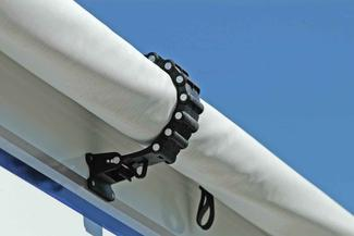 RV Awning Clamp - Black