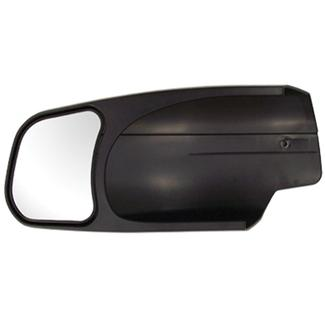 CIPA Slip on Tow Mirror Driver's Side - 07 - 09 Silverado. Sierra, Tahoe, Suburban, Avalanche, GMC Denali, Yukon, Yukon XL, Cadillac Escalade