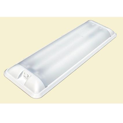 Euro-Style 12-Volt Dual Fluorescent Fixture