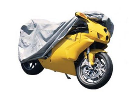 4-Layer SoftGard Motorcycle Cover-Long Bike