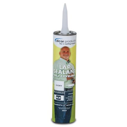 Dicor Self-Leveling Lap Sealant - Ivory