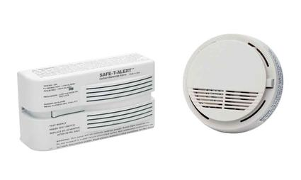 Safe-T-Alert Carbon Monoxide Alarm with FREE Smoke Alarm