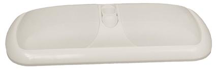 Double Dome Light - White Lens
