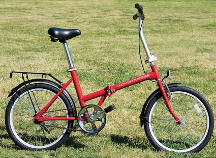 Adventurer Single-Speed Folding Bike