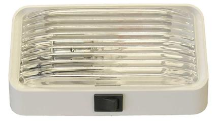 Rectangular Porch Light with On/Off Switch
