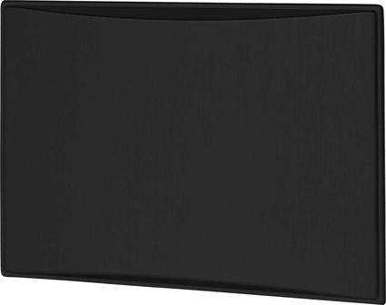 Americana & Americana Plus 7.5 & 8.0 CF Refrigerator Door Panels, Contoured - Brushed Black Stainless