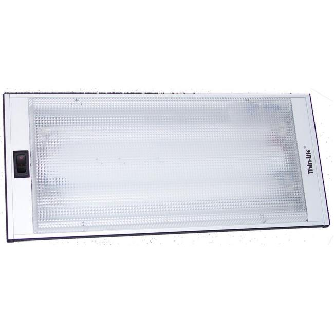Thin Lite Recessed Fluorescent Light Fixture #712XL - Leisure Time ...
