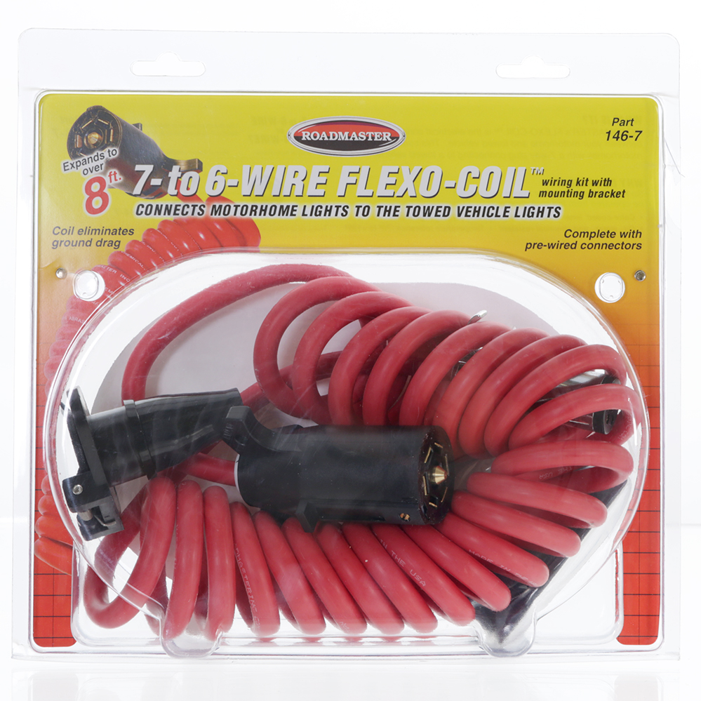 Flexo Coil 7 To 6 Wire Roadmaster 146 Electrical Cords Roadmasters Auto Harness Camping World