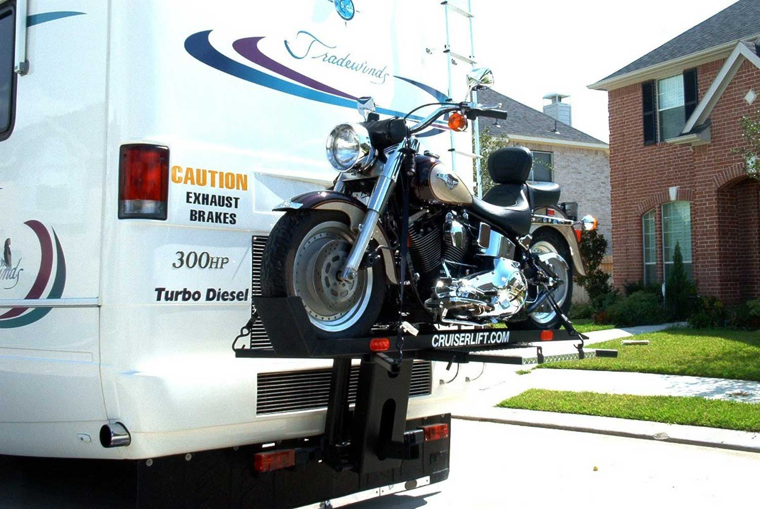 Cruiserlift Fast Master Cruiserlift Motorcyle Carriers Camping