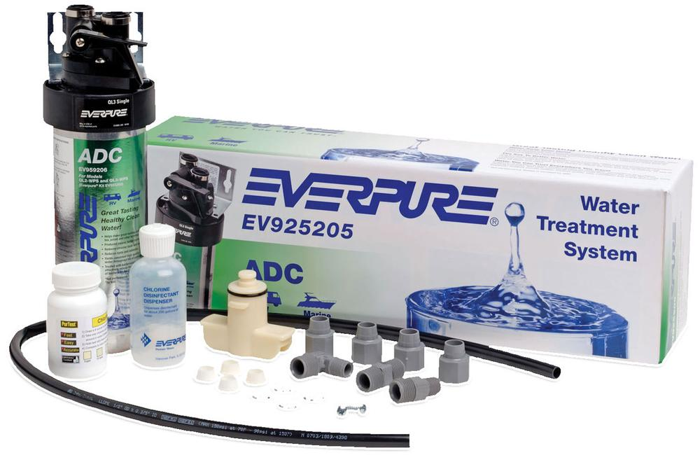 Everpure water treatment system shurflo ev925205 water for Pentair water filtration