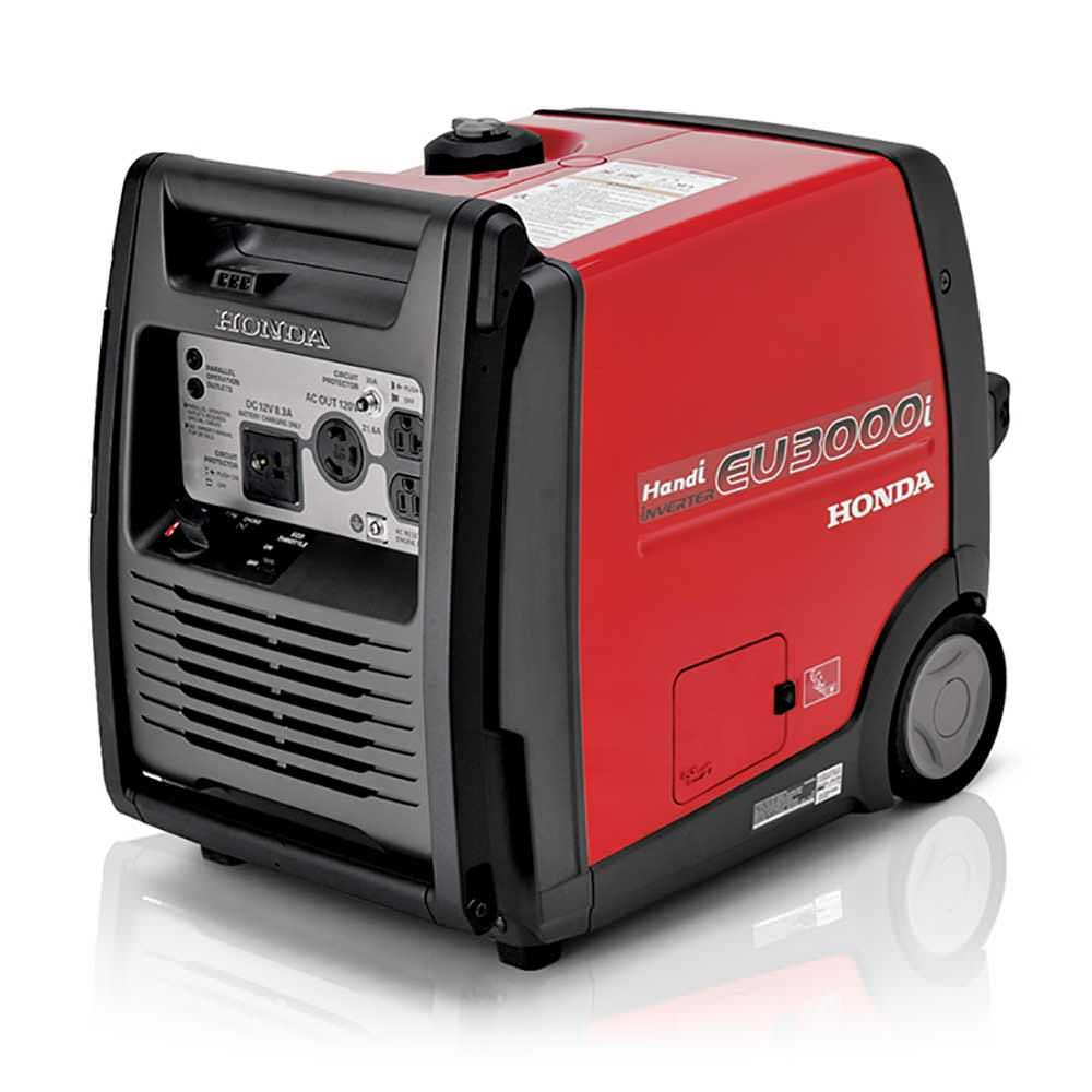 ... Honda EU3000i Handi Portable Generator   CARB Compliant; Watch The  Video Below To Learn More.