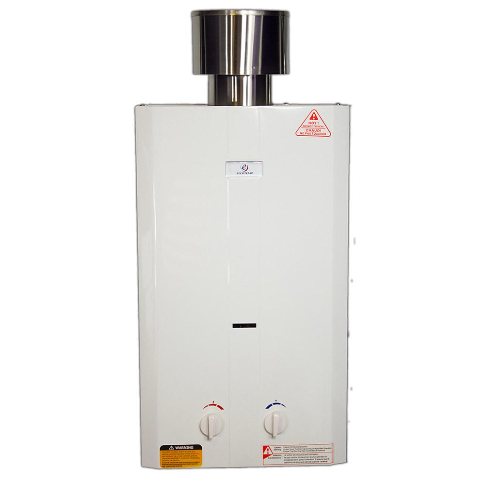 Portable Battery Powered Heater Eccotemp L10 High Capacity Portable Tankless Water Heater