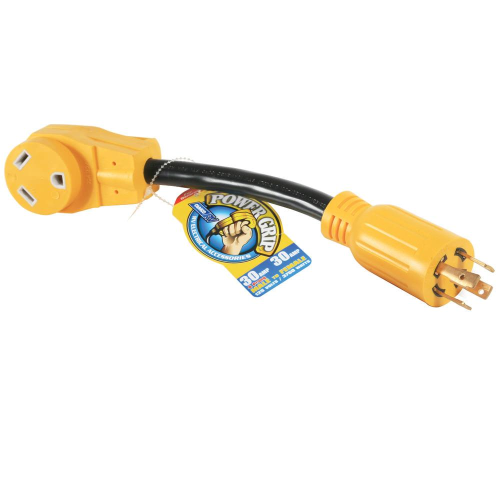 Image Power Grip 30-Amp Generator Adapter. To Enlarge the image, click