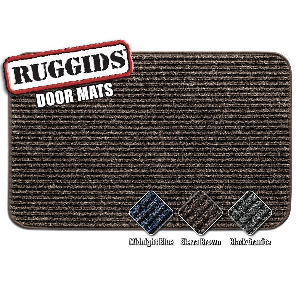 Ruggids RV Door Mat   Sierra Brown