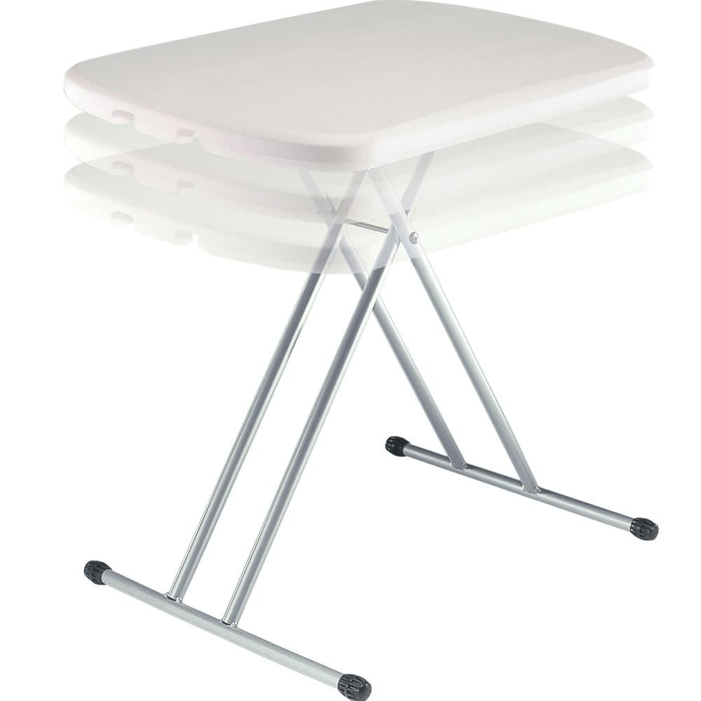 White Personal Table Lifetime 8354 Folding Tables Camping World
