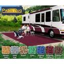 Prest-O-Fit Patio Rug 8\' x 20\' - Burgundy Wine