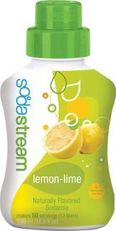 Soda Club Lemon Lime Soda Six Pack Refill