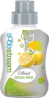 Soda Club Diet Lemon Lime Soda Six Pack Refill