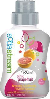 Soda Club Diet Pink Grapefruit Soda Six Pack Refill