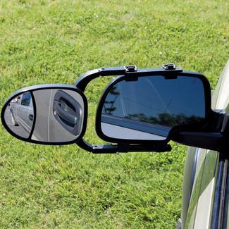 Good Sam Clip-On Tow Mirror with Convex Insert