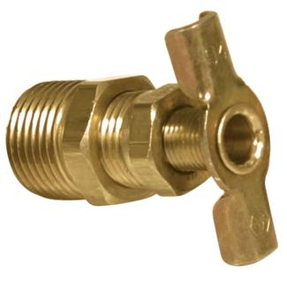 Brass Water Heater Drain Valve, 3/8""