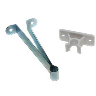 Metal Entry Door Holder with Plastic Clip - 3