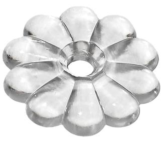 Rosette Washers - Clear