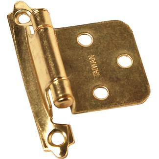 Self Closing Hinge - Brass