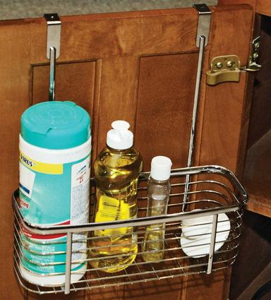 Over-the-cabinet Basket