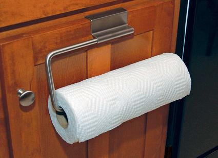 Over-the-cabinet Paper Towel Holder