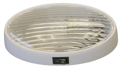 Oval Porch Light With On/Off Switch