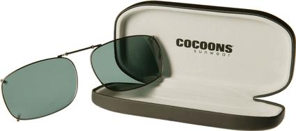 Cocoons Clip-On Sunglasses