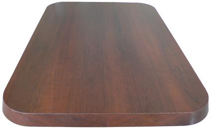 Wood Walnut Laminate Tabletop