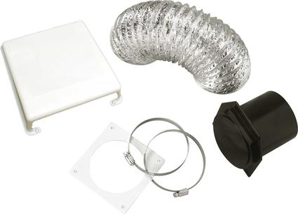 Splendide Dryer Vent Kits - White